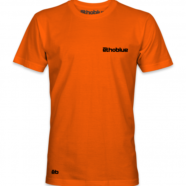 Ethoblue verticle Boat orange Front