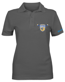 TCRC Womens Grey Polo 1
