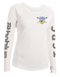 TCRC Womens Long sleeve white