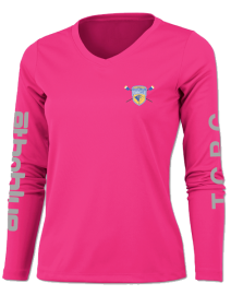 TCRC Womens long sleeve pink